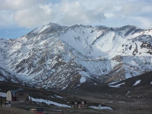 Mountains at Las Lenas ski resort