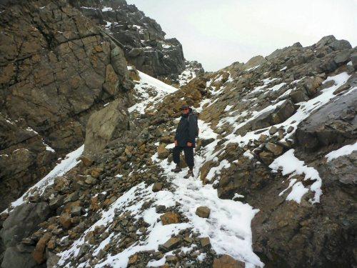 Self on ridge